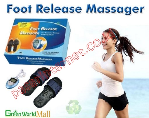 Foot Release Massager Green World