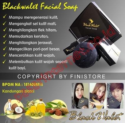 Black Walet Facia Soap