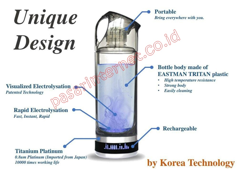 Kirin Bio Hydrogen Ion Generator